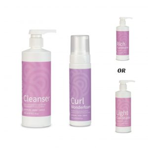 Clever Curl Simplified Curly Girl Pack